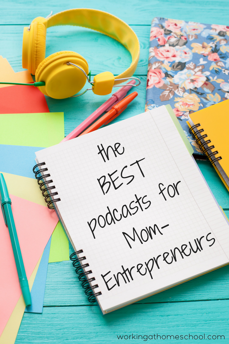 Great list! The best podcasts for mom entrepreneurs! Perfect for busy small business owners.