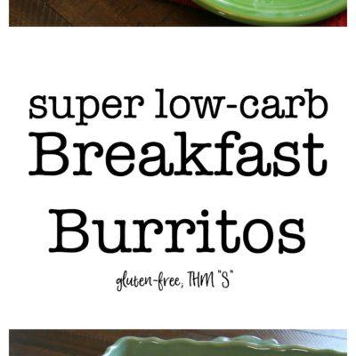Super Low-Carb Breakfast Burritos