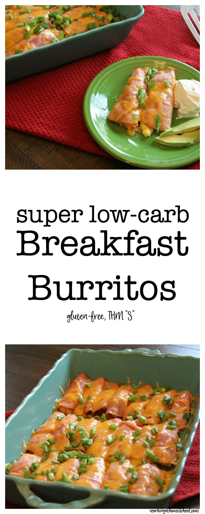 Super Low-Carb Breakfast Burritos