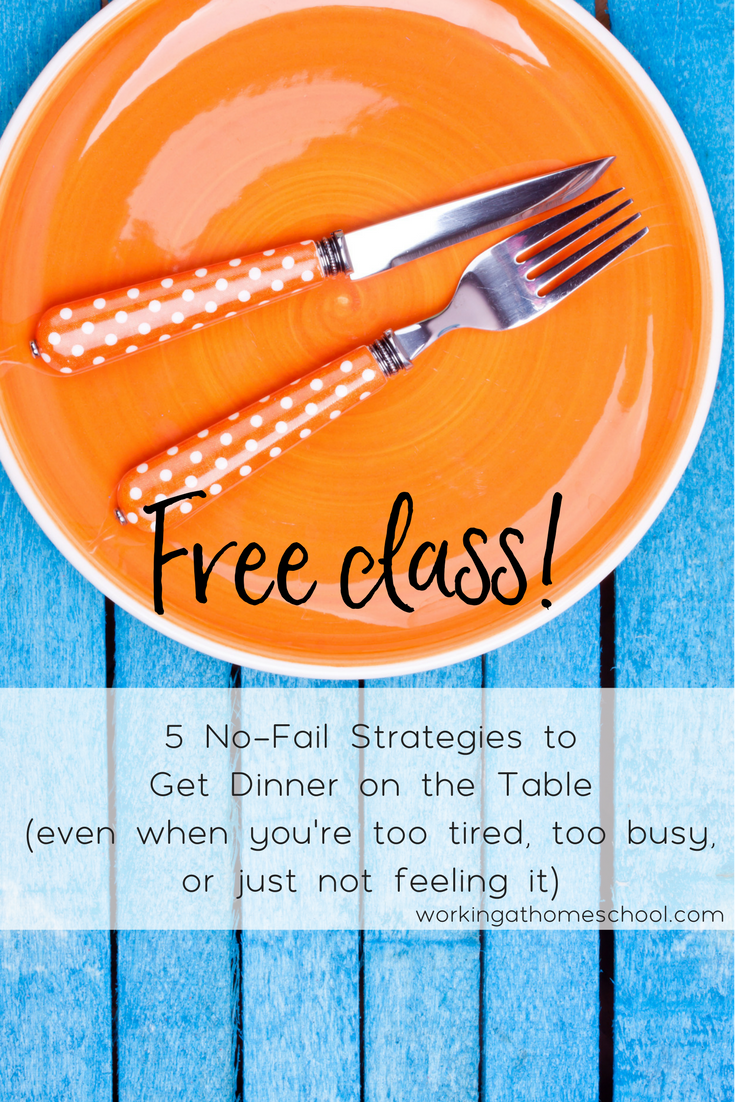 Too busy to eat at home? This free class is for you!