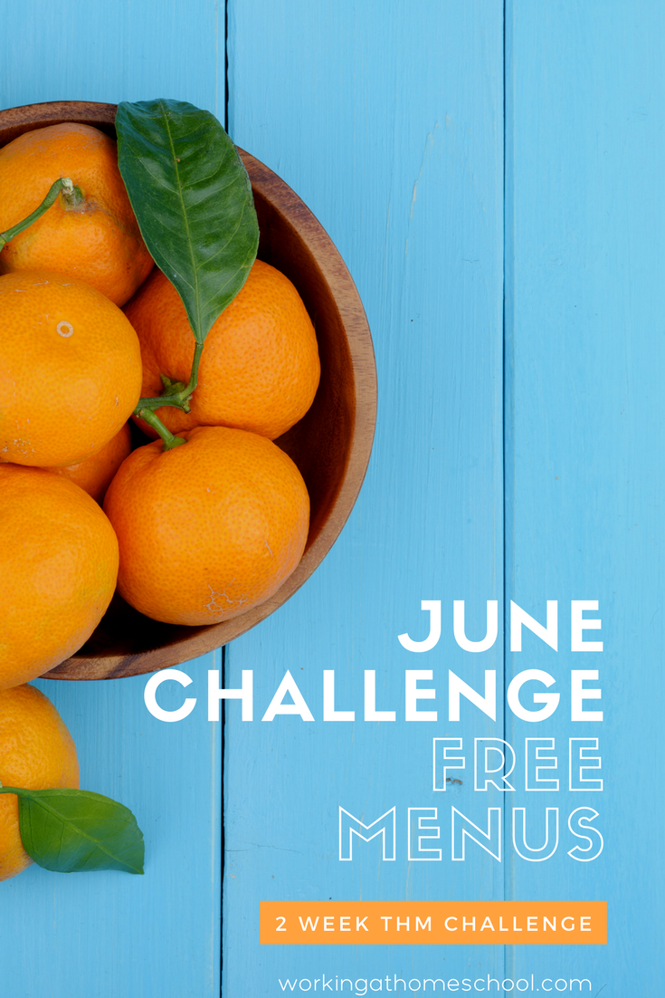 Free THM Challenge! Challenge yourself to eat well with free, healthy menus and shopping lists!