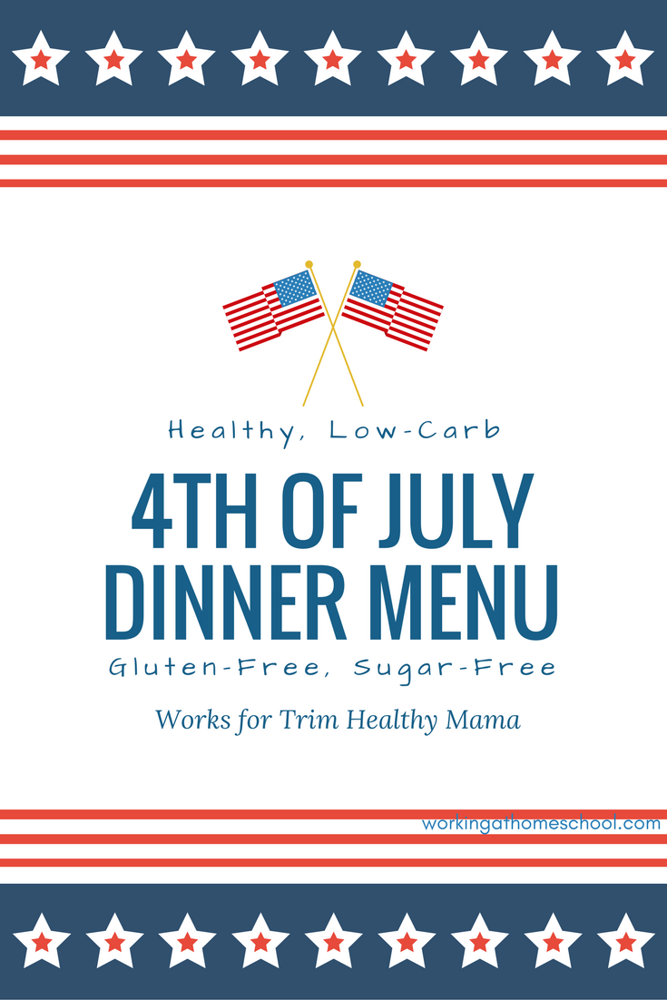 I was looking for something like this! A delicious way to enjoy the 4th without blowing your diet!