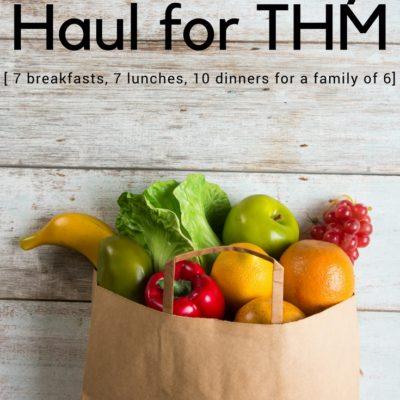 $118 Grocery Haul the Trim Healthy Mama Way