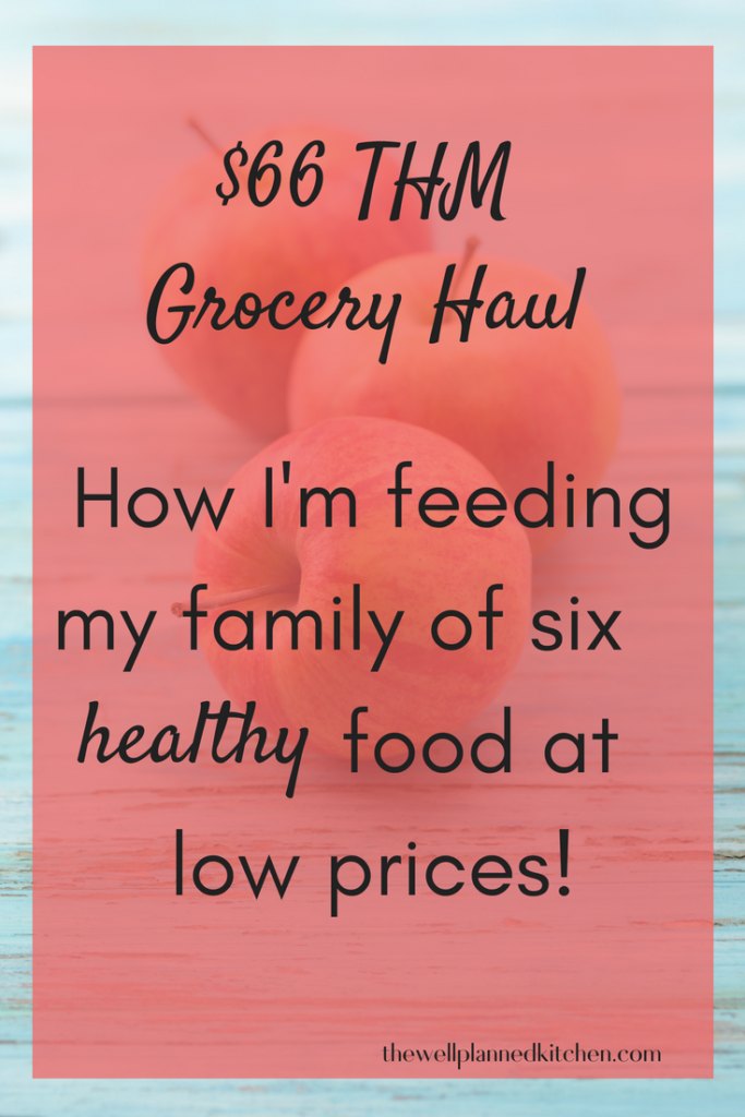 How I'm getting healthy foods for my family at the grocery store - following THM! #trimhealthymama #thm #frugal #groceryhaul
