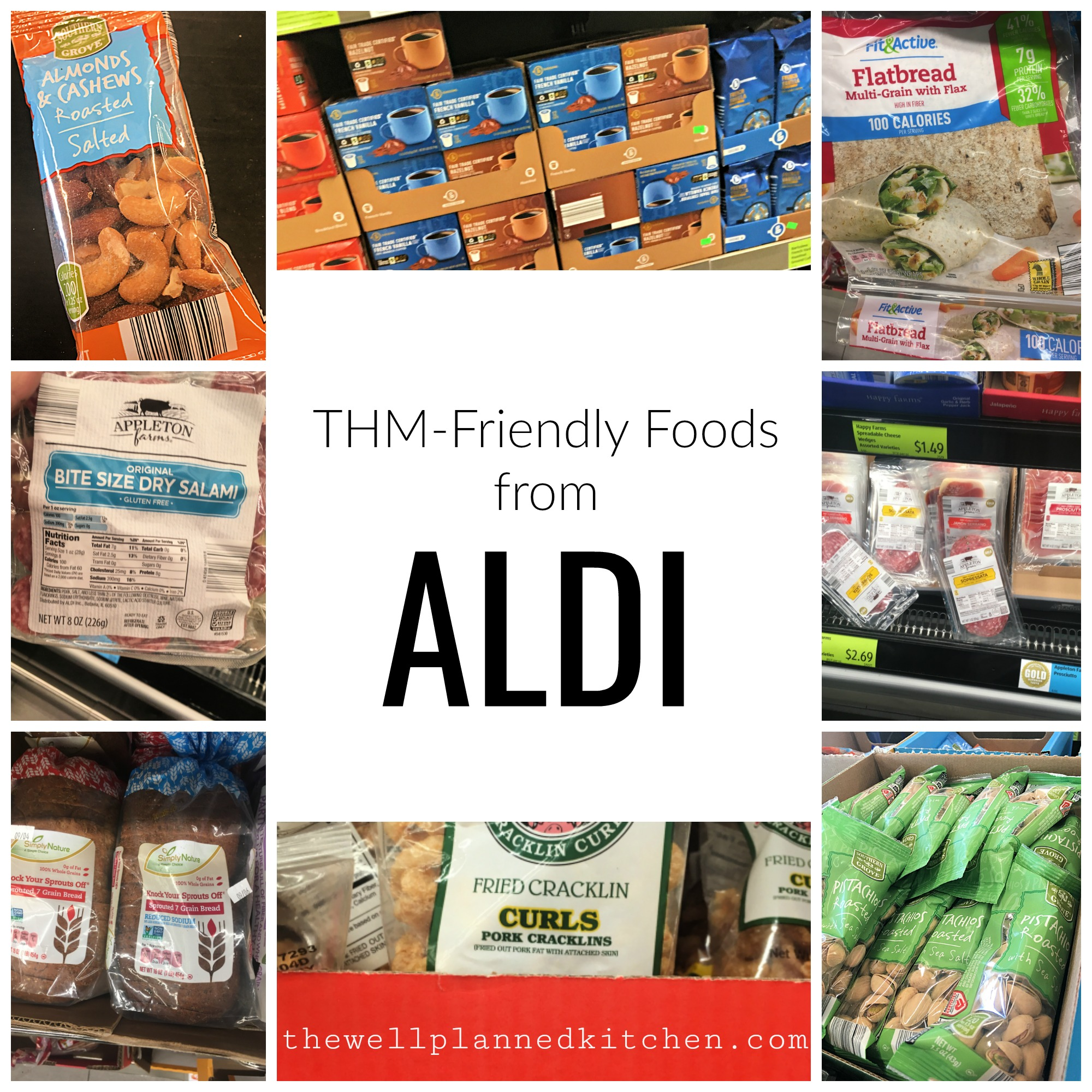 Shopping at Aldi for THM