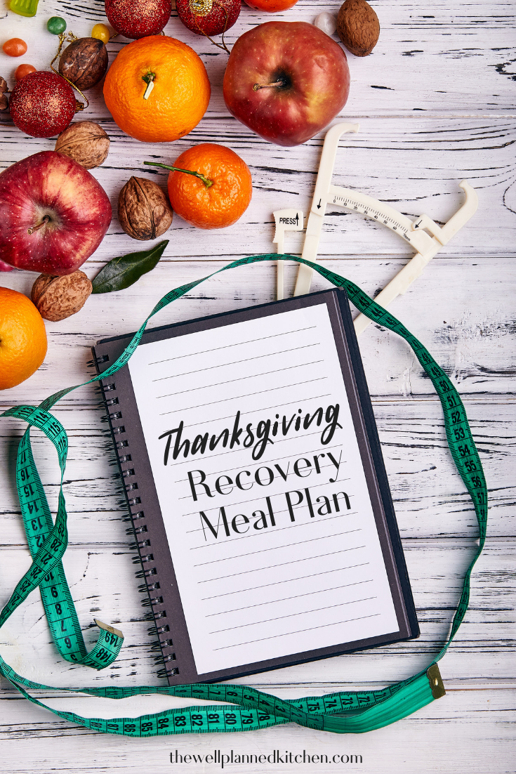 Thanksgiving Recovery Meal Plan