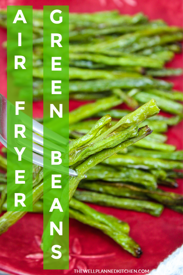 Green beans in the air fryer ftw! #lowcarb #trimhealthymama #thm #healthy #vegetables