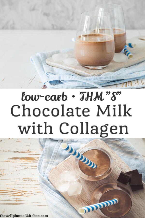 Quick THM Chocolate Milk