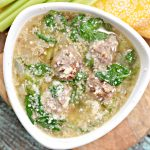 "Delicious, healthy, low carb Italian Wedding Soup! This is a THM ""S"" recipe!"