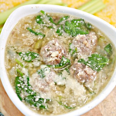 Low-Carb Italian Wedding Soup
