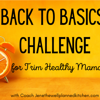 Back to Basics Challenge