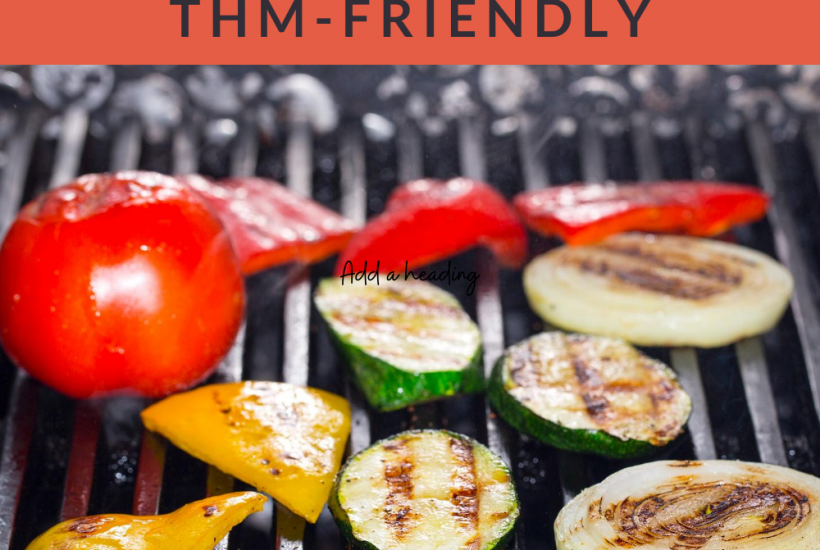 Free printable THM-friendly menu for the month of August!