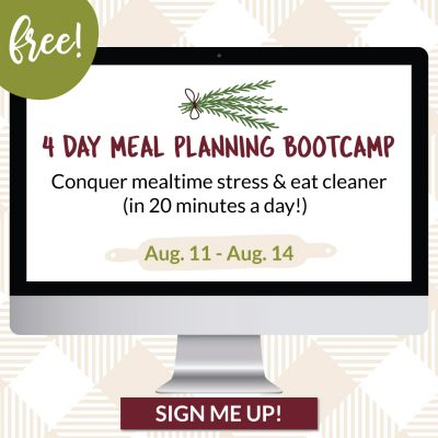 Free Meal Planning Challenge!