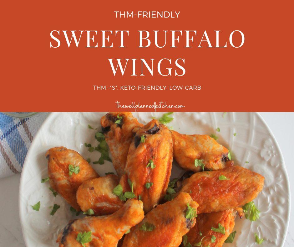 Sweet Buffalo Wings