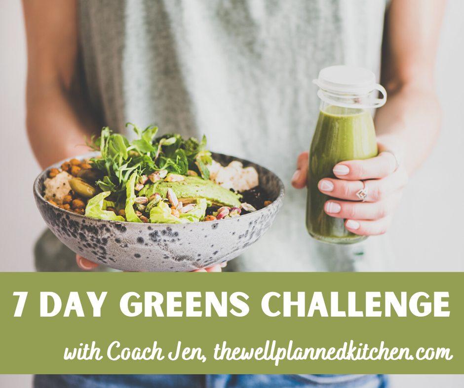 Green Challenge – Eat Your Veggies!