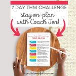 7 Day THM Challenge - Get on plan and stay on plan!