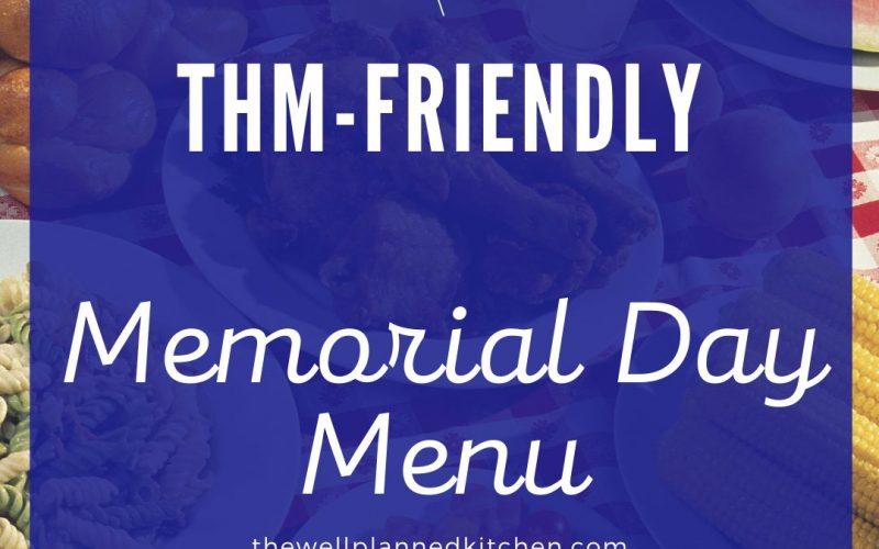THM-Friendly Memorial Day Menu