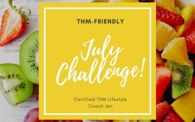 July Challenge – Enjoy your E's!