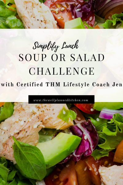 Make Lunch Easy 7 Day Challenge